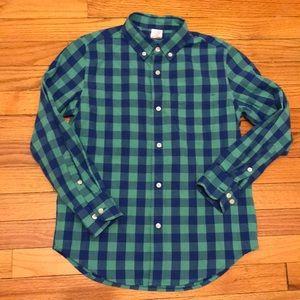 Crewcuts boys button down shirt